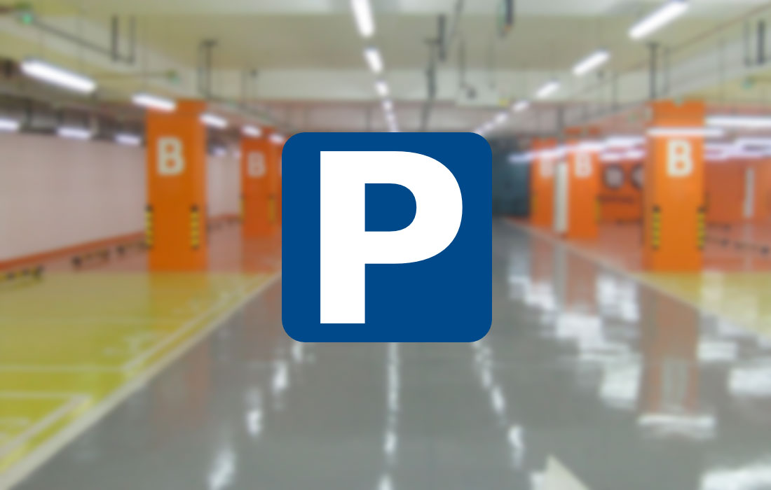 Tubos LED sensorizados parking