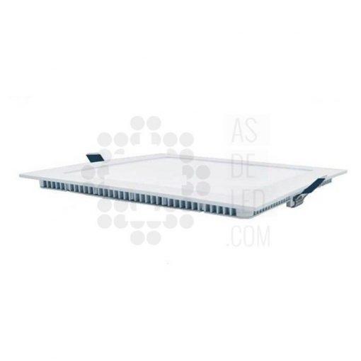 Comprar downlight LED cuadrado 18W marco blanco - PLC20EPDT 02