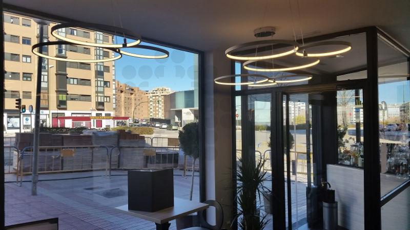 Iluminacion LED en Restaurante La Aguja 01