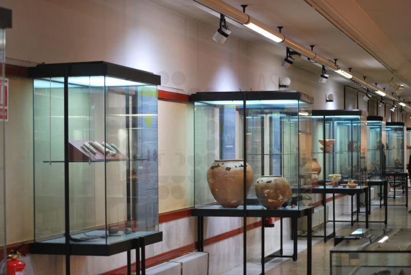 Iluminación LED en Museo Numantino Soria 06
