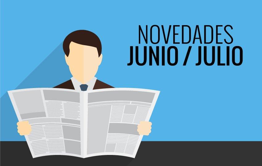 Novedades Junio-Julio 2015 - LED