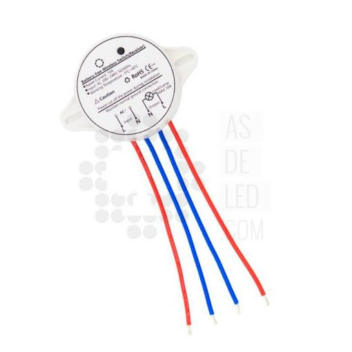 Receptor para pulsador Wireless - Interruptor sin cables