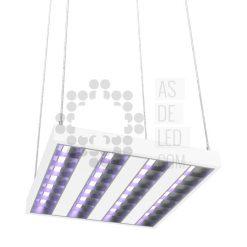 Comprar luminaria equipo LED con luz UVC para desinfección colgante