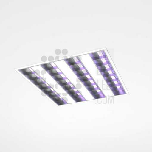 Comprar luminaria equipo LED con luz UVC para desinfección empotrada