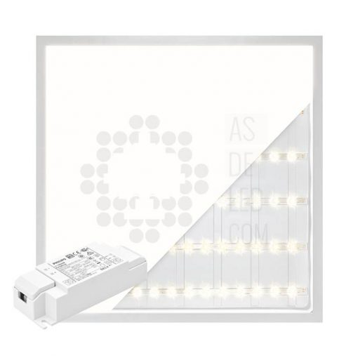 Comprar panel LED 60X60CM y 40W con luz directa a suelo - PL40PH60X60BACK 01