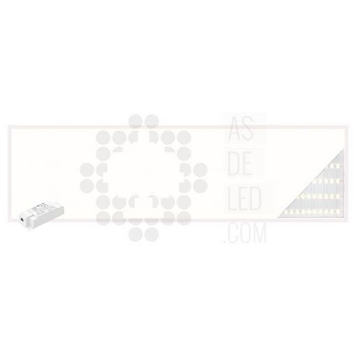 Comprar panel LED 30X120CM y 40W con luz directa a suelo - PL40PH30X120BACK 01