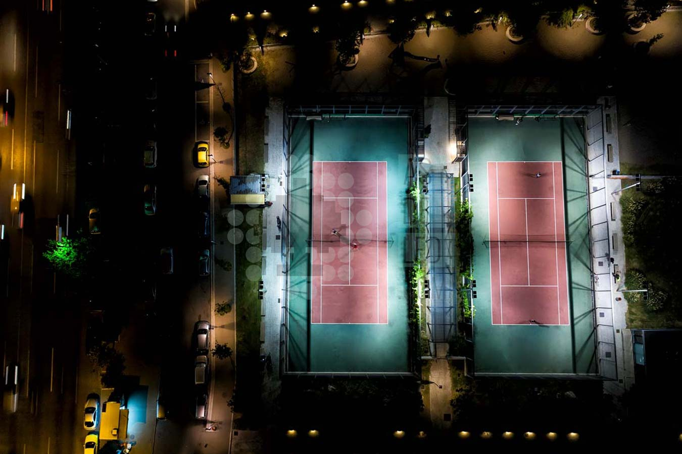 Comprar focos LED proyectores para pistas de tenis y padel - Landing