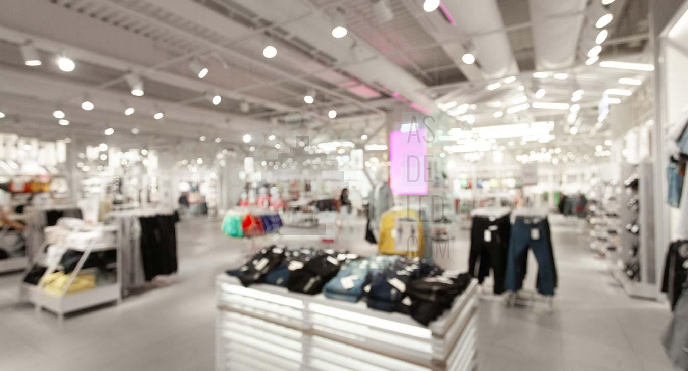 Comprar iluminacion LED para tiendas de moda con carriles - Landing