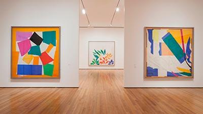 Exposicion de cuadros del artista Matisse mini