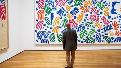 Exposicion de cuadros del artista Matisse 02