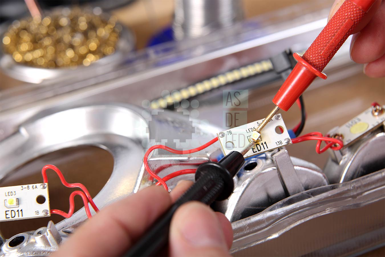 Servicio tecnico de reparacion de productos de iluminacion LED - Banner