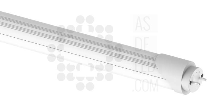 Equivalencia tubo de LED respecto a tubos fluorescentes T8 o T5